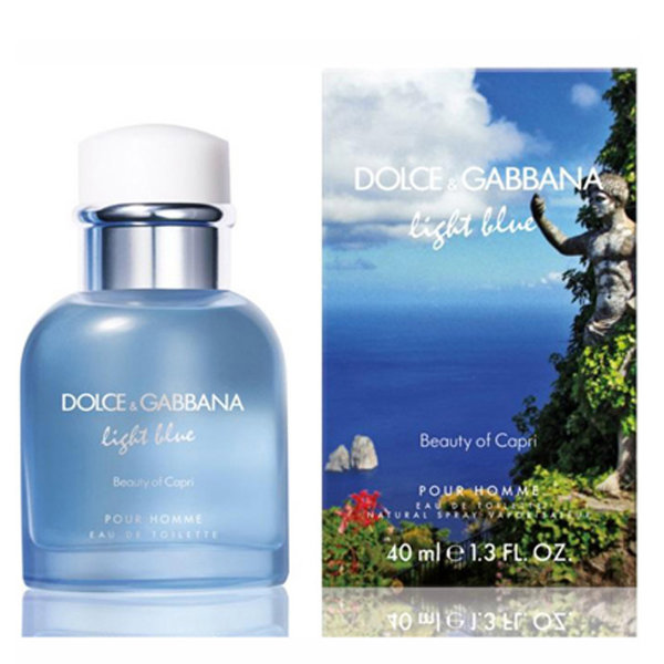 Light Blue Pour Homme Beauty of Capri от Dolce Gabbana
